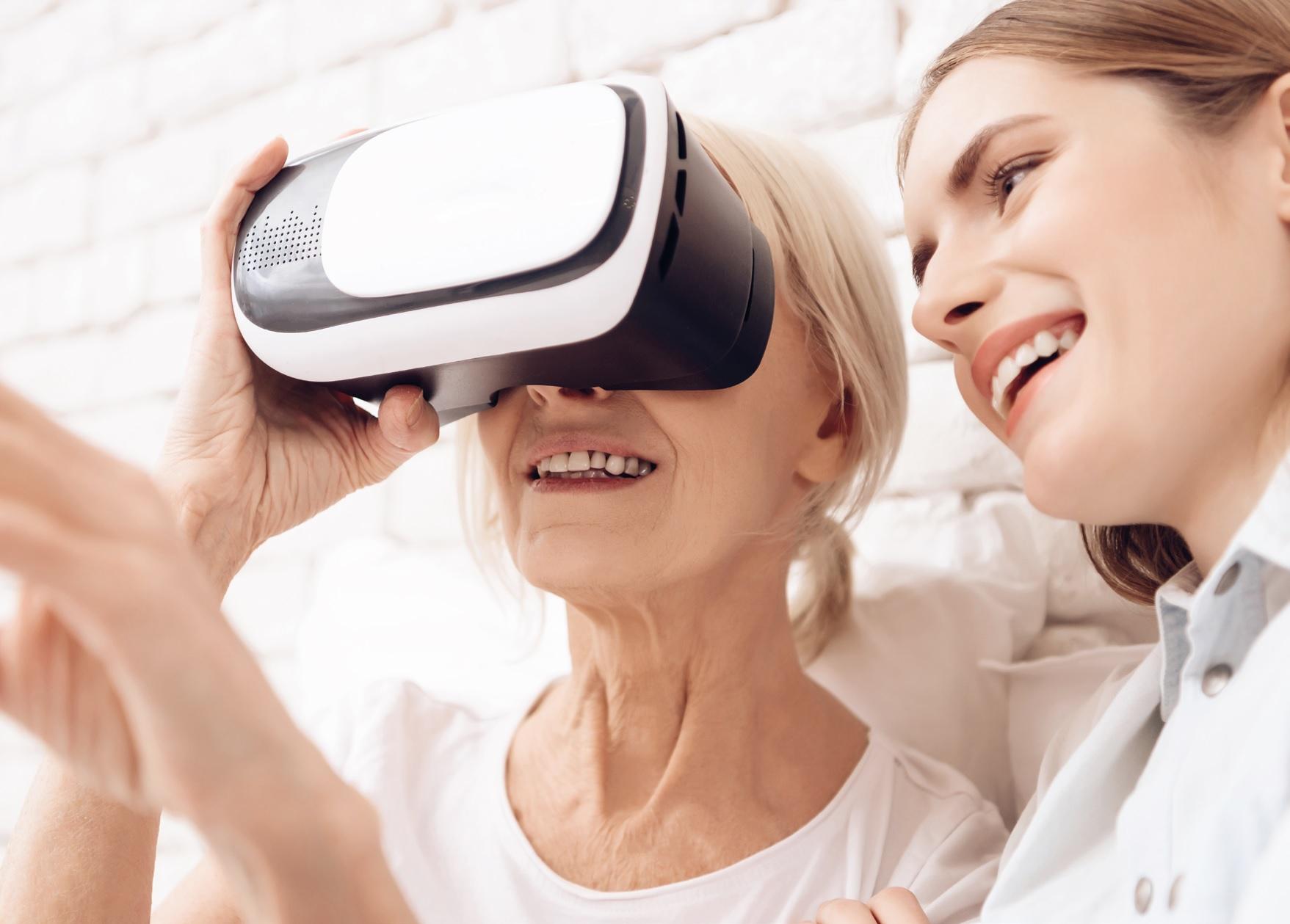 Réalité Virtuelle et seniors